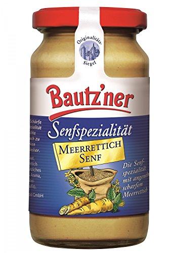 Bautzner Senfspezilalität Meerrettich Senf