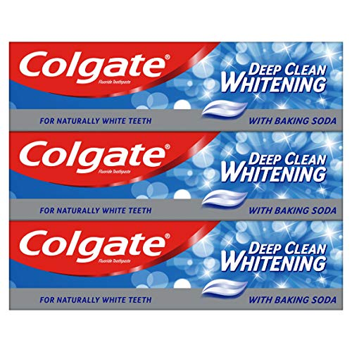 Colgate Deep Clean with Baking Soda Toothpaste 75 ml, Stain Removing Teeth...