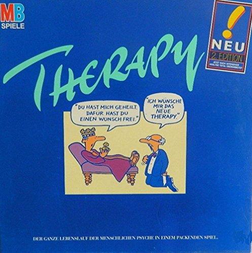 Therapy 2. Edition. Gesellschafts / Partyspiel über Psychologie (Erscheinungsjahr 1994) by MB Spiele