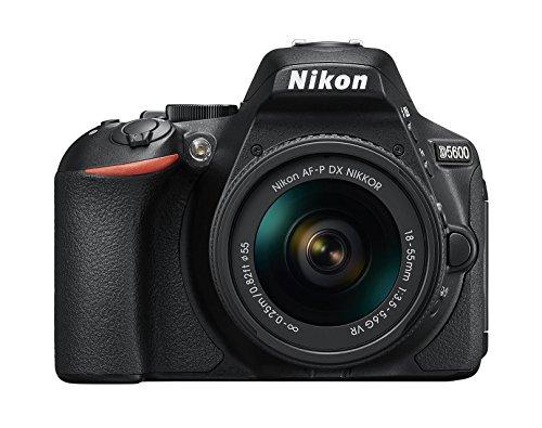 "Nikon D5600 - [Versión Nikonistas] - Kit cámara réflex de 24.2 MP + AF-P DX 18-55 mm VR (táctil de 3"", Full HD) negro"