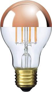 【3年保証 フィラメントLED電球「Siphon」ザ・バルブ Copper mirror LDF62】色温度:2600K E26 電球色 クリア ガラス レトロ アンティーク インダストリアル ブルックリン お洒落 照明 間接照明 ランプ