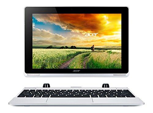 Acer Aspire Switch W5-012-13BN Convertibile 2 in 1: Notebook e Tablet da 10.1' IPS, Processore Intel Atom Z3735F Quad-Core, RAM 2 GB, eMMC 32 GB, Modulo 3G, Argento