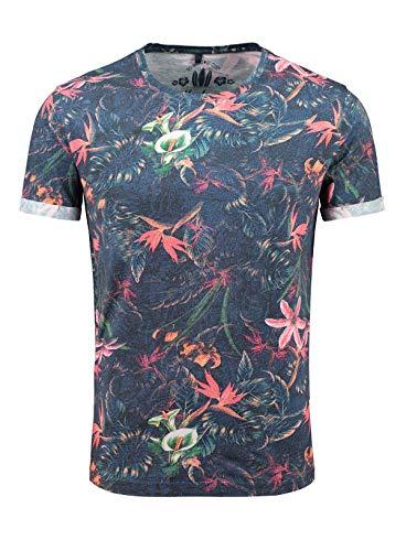KEY LARGO Herren Shirt MT Jungles dunkelblau XL