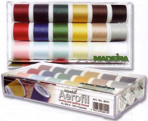 Madeira Aerofil Polyester 18 Spool Set, 200m Each