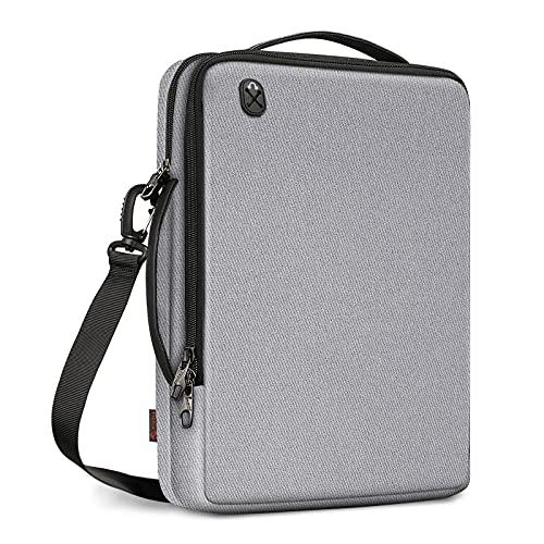 FINPAC Umhängetasche Laptop Tasche für 13,3 Zoll MacBook Pro/MacBook Air M1, iPad Pro 12,9