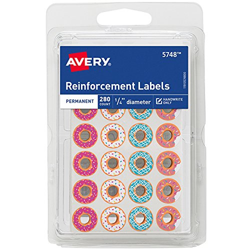 Best reinforcements for hole-punched pages color for 2020