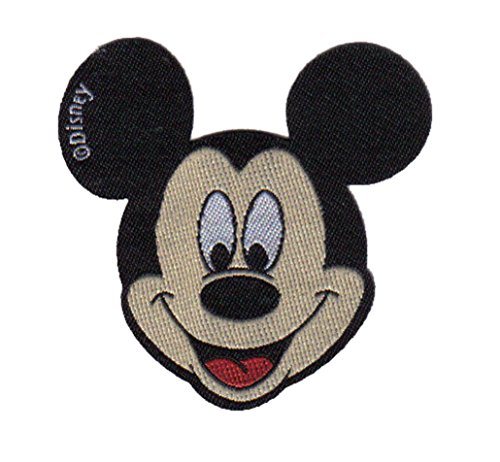 Mickey Mouse - Disney - Aufnäher/Iron On Patch/Applikation - 6,5 x 6,5 cm