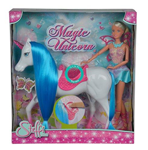Simba 105737042 – Steffi Love Magic Unicorn Poupée