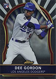 2011 Topps Finest Devaris Strange (Dee) Gordon - Baseball Rookie Card RC #82
