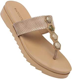 Haute Curry by Shoppers Stop Womens Casual Wear Slipon Wedges