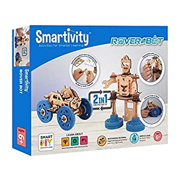 Smartivity Rover Bot Educational STEM Toy Contruction Kit for Kids Ages 6 and Up