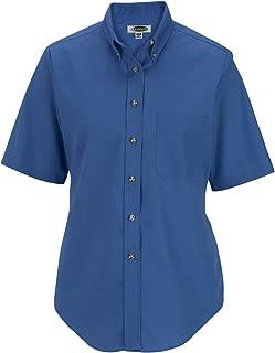 Ladies' Easy Care Short Sleeve POPLIN Shirt