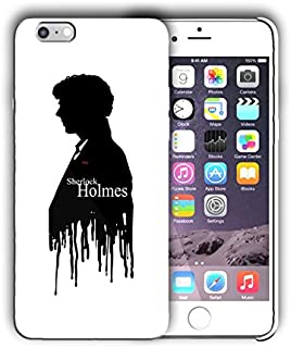 Hard Case Cover with Sherlock Holmes design for Iphone models (sher2) (Iphone 5 5s SE)