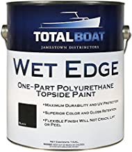 TotalBoat Wet Edge Topside Paint (Black, Gallon)