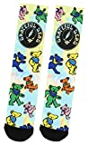 Bioworld Merchandising / Independent Sales Grateful Dead Bear Sublimated Socks Standard