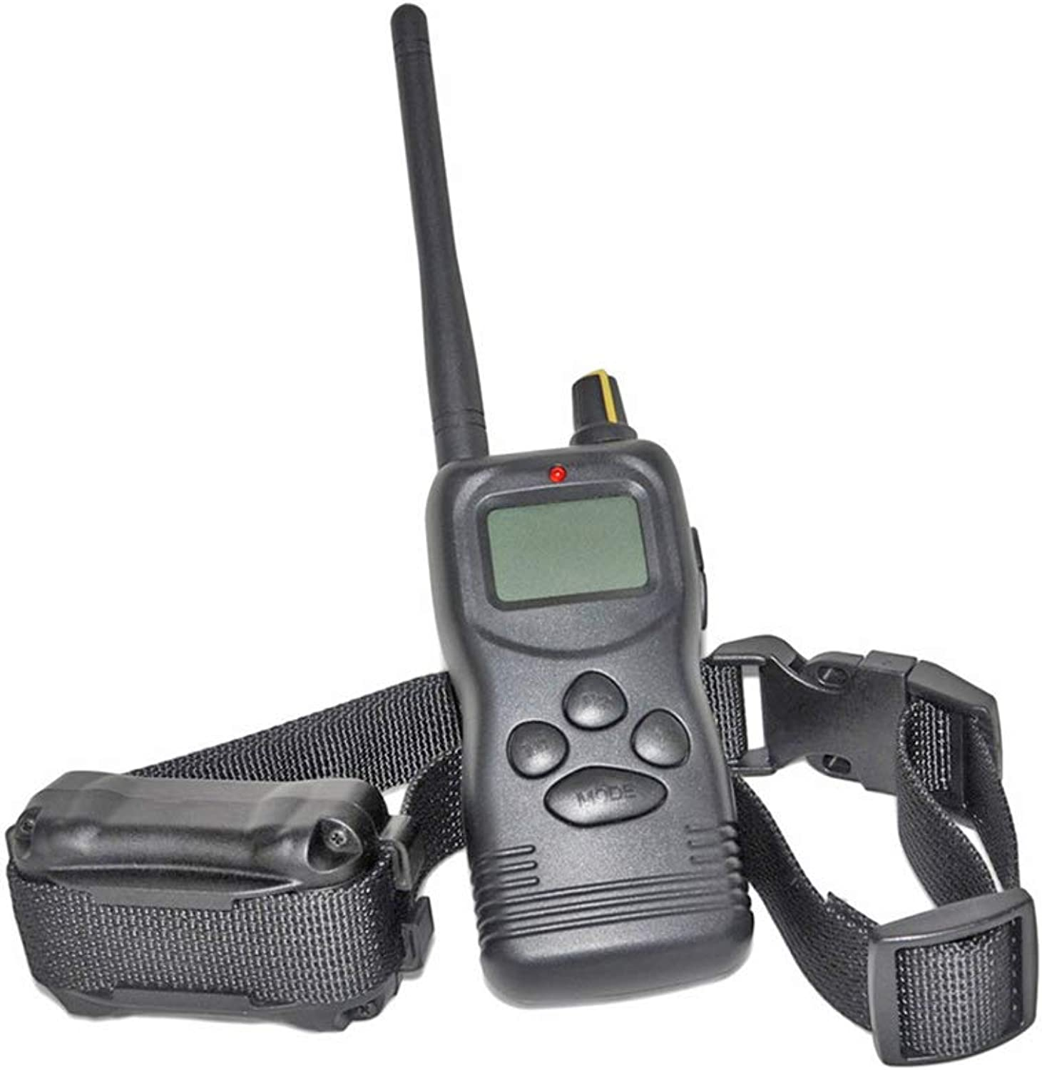 1000 Meters Dog Training Collar, Far Distance Trainer Sound Electric Shock Shock  for Oversized LCD Display Waterproof