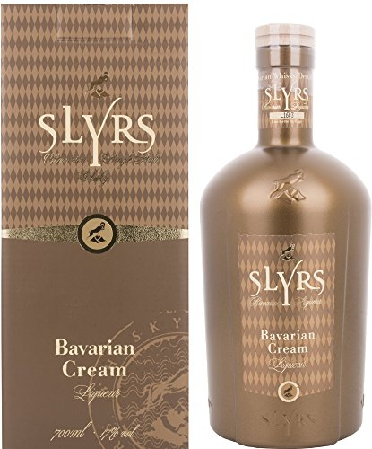 Slyrs Bavarian Cream Liqueur 17% Vol. 0,7 l + GB