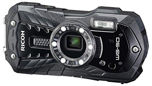 "Ricoh WG-50 Cámara compacta 16MP 1/2.3"" CCD 4608 x 3456Pixeles Negro - Cámara Digital (16 MP, 4608 x 3456 Pixeles, CCD, 5X, Full HD, Negro)"