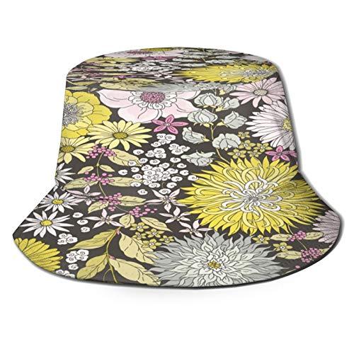 Sombrero de Pescador Unisex Pareja Gato dibuja tu diseño Plegable De Sol/UV Gorra Protección para Playa Viaje Senderismo Camping