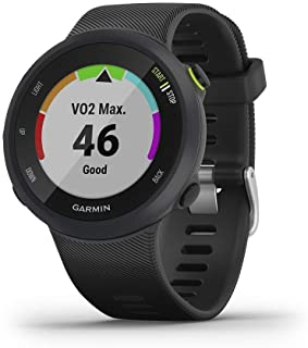 Garmin Forerunner 45 Rubber Watch (Black)