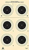 Official NRA Shooting Targets, A-23/6, Outdoor Conventional, 14'x 24' (25 Targets)