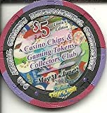 $5 tropicana 9th annual convention preserving gaming las vegas casino chip