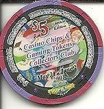 $5 tropicana 9th annual convention preserving gaming las vegas casino chip