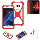 K-S-Trade® Mobile Phone Bumper + Earphones For UMIDIGI Z1
