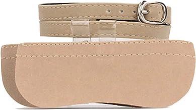 Women's Detachable Suede Shoe Strap - High Heels Anti-Slip Anti-loose Shoelace Accessories Shoe Buckles Decor Beige