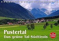 Pustertal - Das gruene Tal Suedtirols (Tischkalender 2022 DIN A5 quer): Mit Bildern aus dem Osten Suedtirols durchs Jahr (Geburtstagskalender, 14 Seiten )