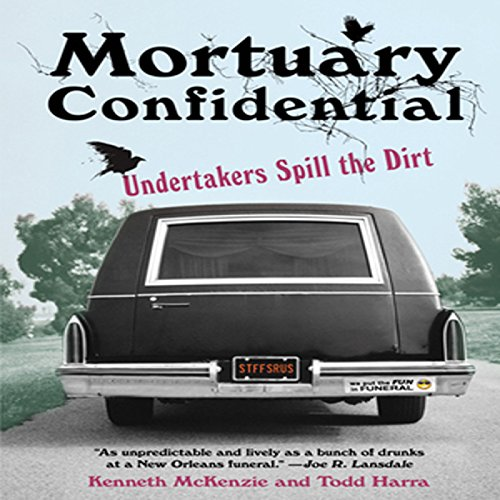 Mortuary Confidential audiobook cover art