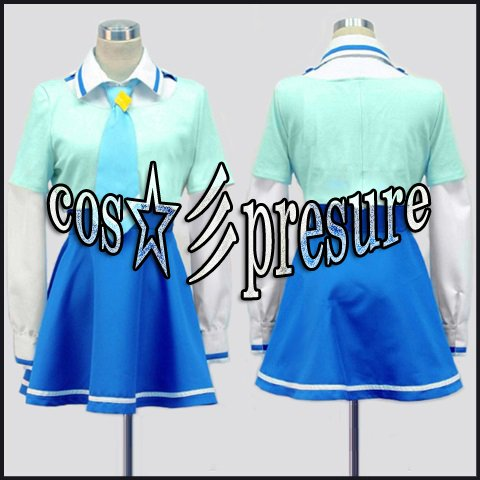 『392 【cos-presure】スマイルプリキュア!風 青木れいか 女性制服』の1枚目の画像