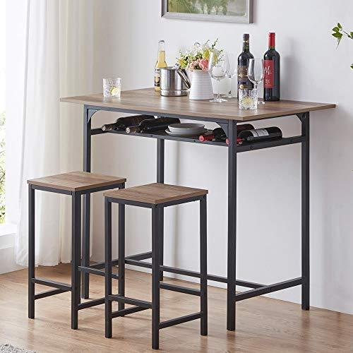 pub table and bar stools - 7