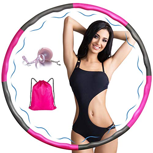 Weighted Exercise Hoop for Adults, …