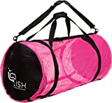 LISH Mesh Dive Bag - XL Multi-Purpose Equipment Diving Duffle Gear Tote, Ideal...