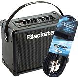 Blackstar ID Core 20 V2 - Amplificador estéreo para guitarra (incluye cable de guitarra keepdrum GC-004, 6 m)