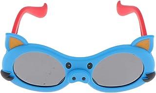 Injoyo - Gafas De Sol De Moda para Niños Pequeños, Gafas A Prueba De Rayos UV para Niños Adolescentes De 3 A 12 Años - Azul
