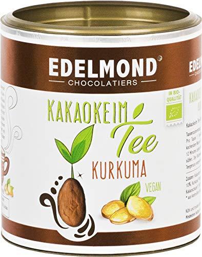 Kakao Tee Limone Kurkuma. Bio von Edelmond. Lose, ideal für Teesieb, Teekanne oder Glas. 180g Teedose