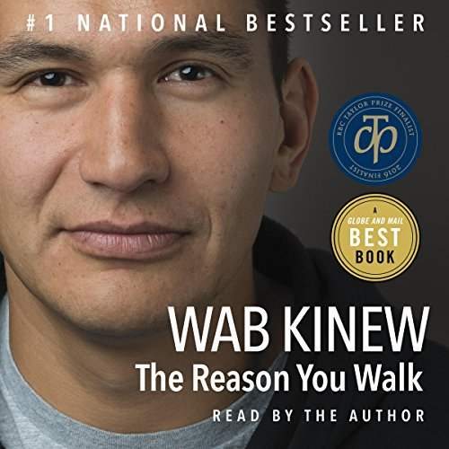 The Reason You Walk audiobook cover art