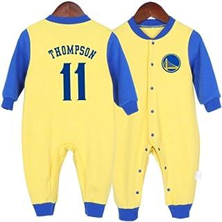 ZHYIYI Camiseta De Baloncesto para Bebés Camiseta De Algodón De Manga Larga Transpirable De Algodón para Bebés Camiseta De...