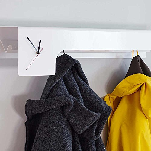 Deparso Lean - Wand-Garderobe mit Uhr von Form|knast
