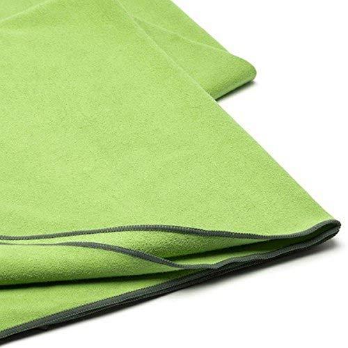 MERRITHEW Microfiber Towel Deluxe (Sage Green), 26.5 x 72 inch / 68 x 183 cm
