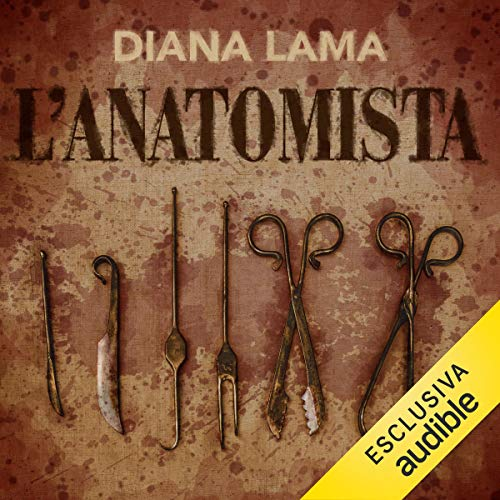 L'anatomista audiobook cover art