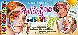 Eulenspiegel- Metall-Palette 212240 Happy Holiday-Paleta de Maquillaje Vegana para niños, Carnaval, Multicolor