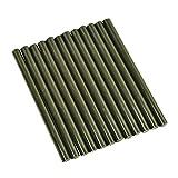 12x Black Hair Extension Glue Sticks Fusion Made in USA