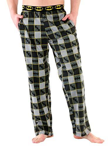 pigiama uomo pantaloni Batman - Pantaloni di Pigiama per Uomo Medium