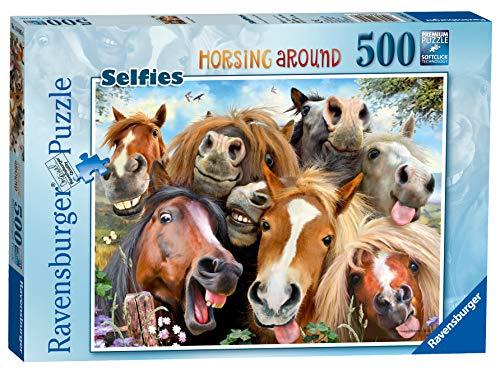 Ravensburger 146956 Pferde Selfie, Puzzle