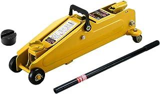 メルテック フロアージャッキ(2.25t) ミニバン・1BOX車 油圧式 最高値:410mm/最低値:133mm/ストローク:277mm アタッチメント付 Meltec F-85