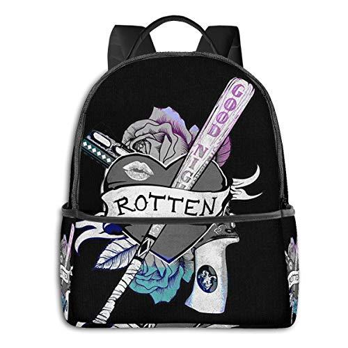 510fADeaxML Harley Quinn Backpacks for School