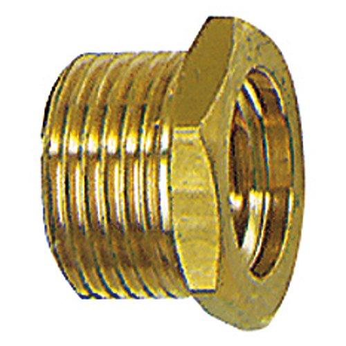 Fileté mále réducteur, court, Raccord : G 3/8 filetage mâle x G 1/4 filetage femelle pouces, OC 19 mm, Long. 13,0 mm